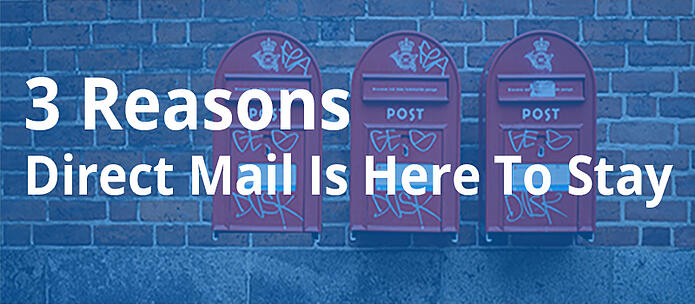 3 reasons direct mail here to stay blog