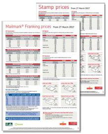 wall chart mail mark 19